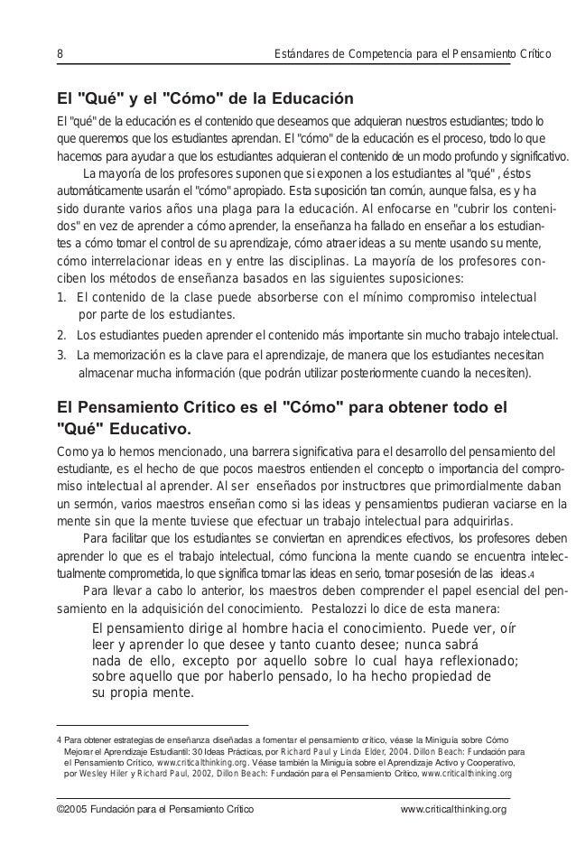 """El """"Qué"""" y el """"Cómo"""" de la Educación El """"qué"""" de la educación es el contenido que deseamos que adquieran nuestros estudian..."""