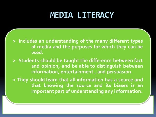 information literacy Information literacy information literacy is a crucial skill in the pursuit of knowledge it involves recognizing when information is needed and being able to efficiently locate, accurately evaluate, effectively use, and clearly communicate information in various formats.