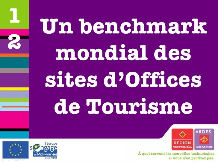 Un benchmark mondial des sites d'Offices de Tourisme 12