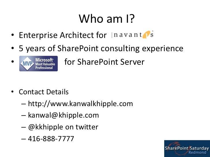 SharePoint Branding Guidance @ SharePoint Saturday Redmond Slide 3