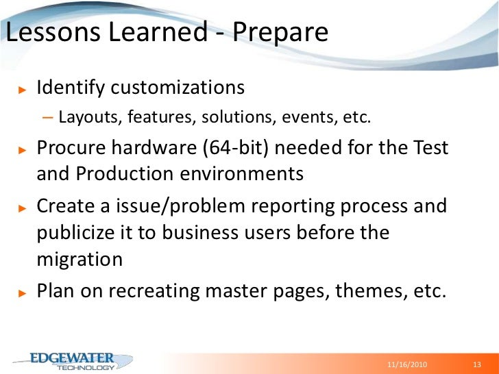 E-commerce, CMS</li></ul>B2B Web Rejuvenation<br /><ul><li> ROI