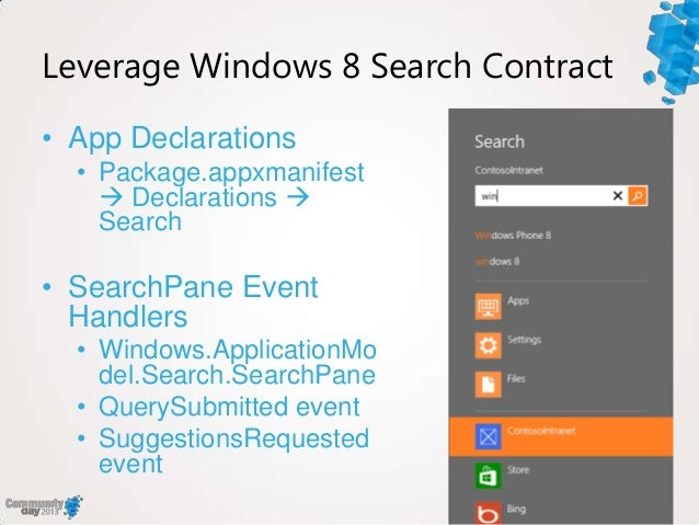 Building Search-driven Windows 8 And Windows Phone 8 Apps