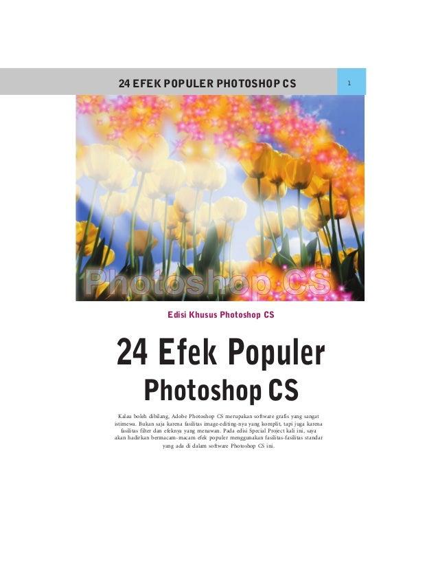 24 EFEK POPULER PHOTOSHOP CS                                                             1                      Edisi Khus...