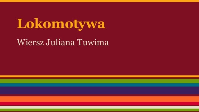 Lokomotywa Juliana Tuwima