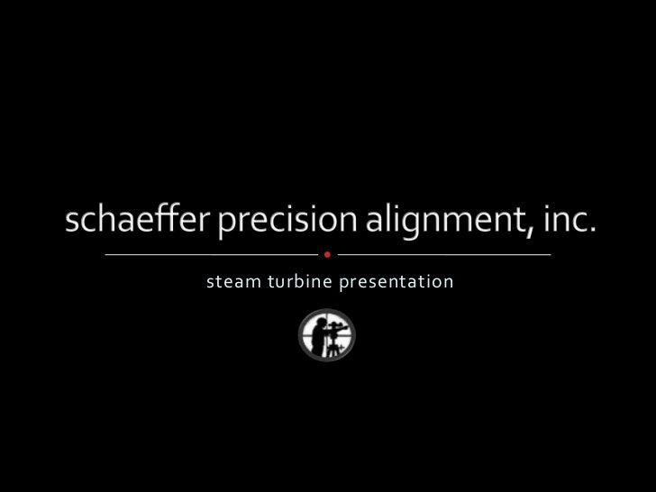 steam turbine presentation