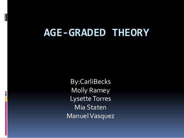 age graded theory