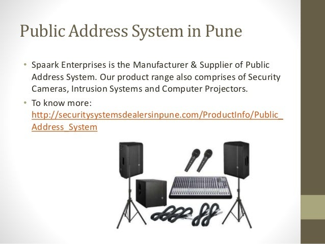 Spaark Enterprises Is A Audio And Visual Provider In Pune Ppt