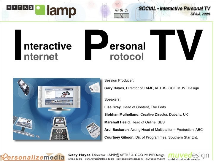 SOCIAL - Interactive Personal TV                                                                                          ...
