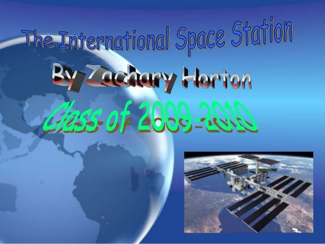 What is the International Space Station? The International Space Station is a place in space that allows people to live an...