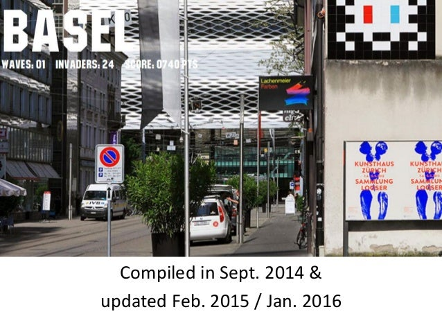 Compiled in Sept. 2014 & updated Feb. 2015 / Jan. 2016