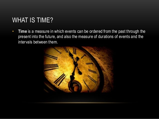 Image result for what is 'time'