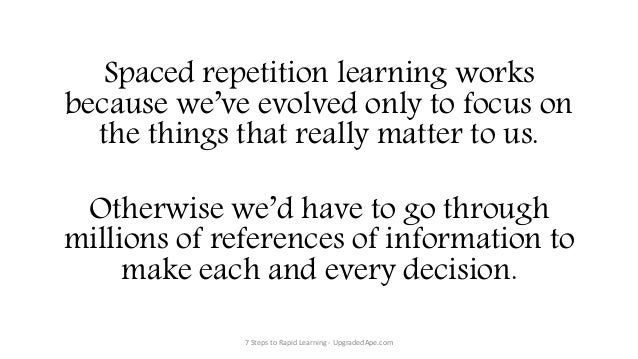 Spaced repetition - Wikipedia