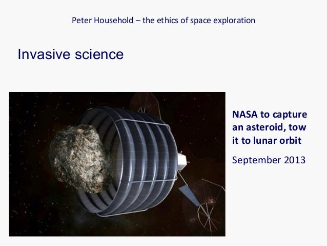 Ethics of space exploration lecture