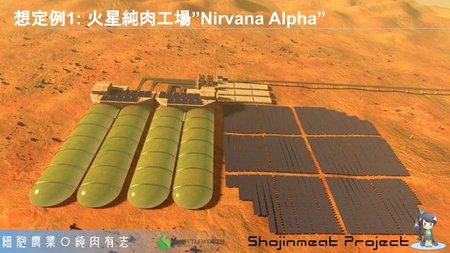 """想定例1: 火星純肉工場""""Nirvana Alpha"""""""
