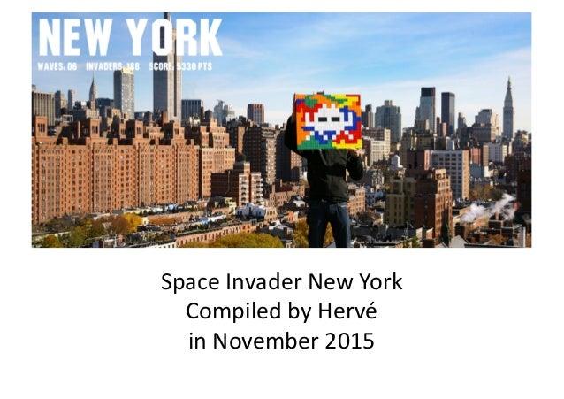 SpaceInvaderNewYork CompiledbyHervé inNovember2015
