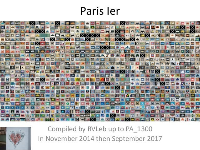 Paris Ier Compiled by Hervé In November 2014