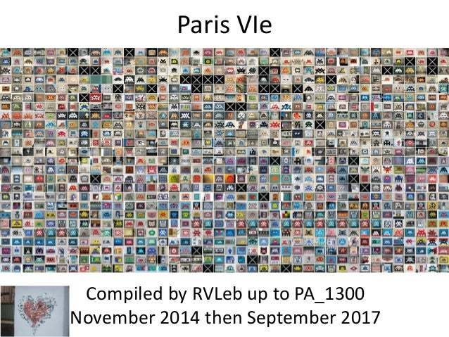 Paris VIe Compiled by Hervé In November 2014