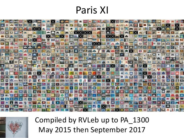 Paris XI Compiled by RVLeb up to PA_1300 May 2015 then September 2017