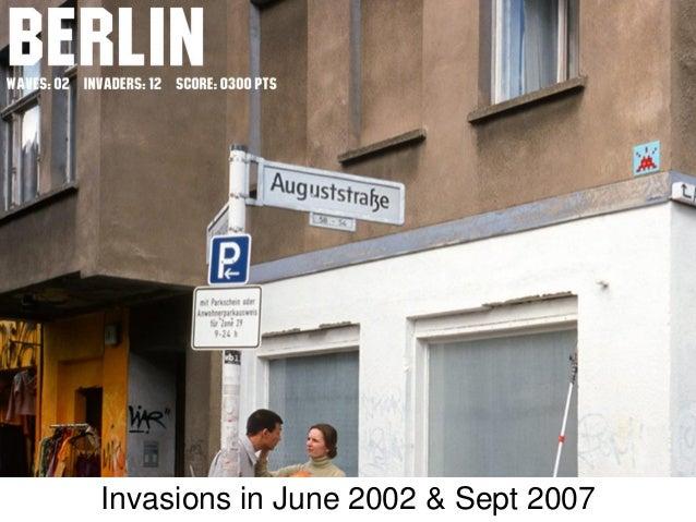 Invasions in June 2002 & Sept 2007