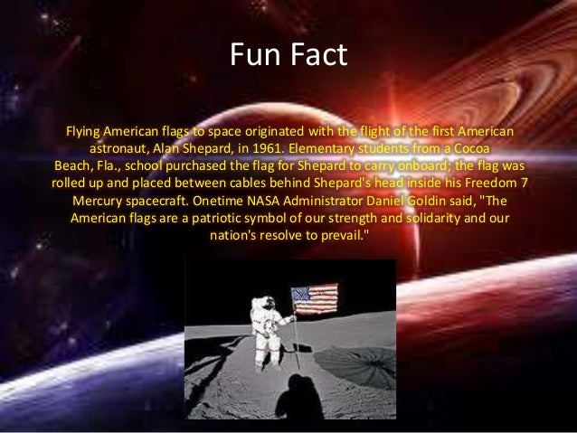 Space inventions and fun facts for Good facts about america