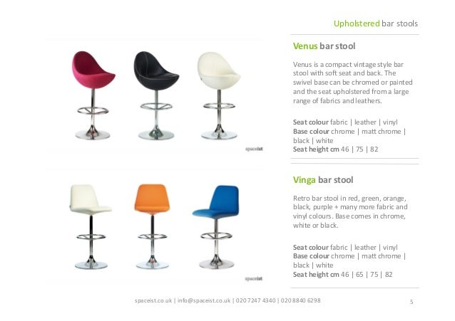 Fantastic Spaceist Upholstered Barstool Catalogue Beatyapartments Chair Design Images Beatyapartmentscom