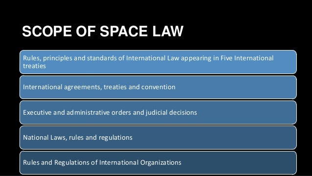 space law No country owns space, so are there laws there spoiler alert: yes what laws are there well watch this video to find out (it's complicated) email: wendove.