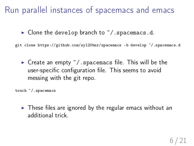 Spacemacs: emacs user's first impression