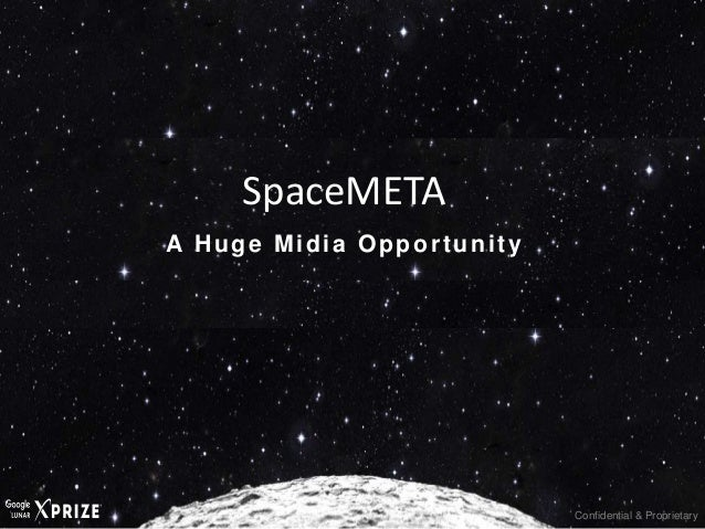Confidential & Proprietary A Huge Midia Opportunity SpaceMETA