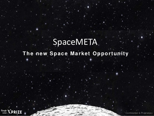 Confidential & Proprietary The new Space Market Opportunity SpaceMETA