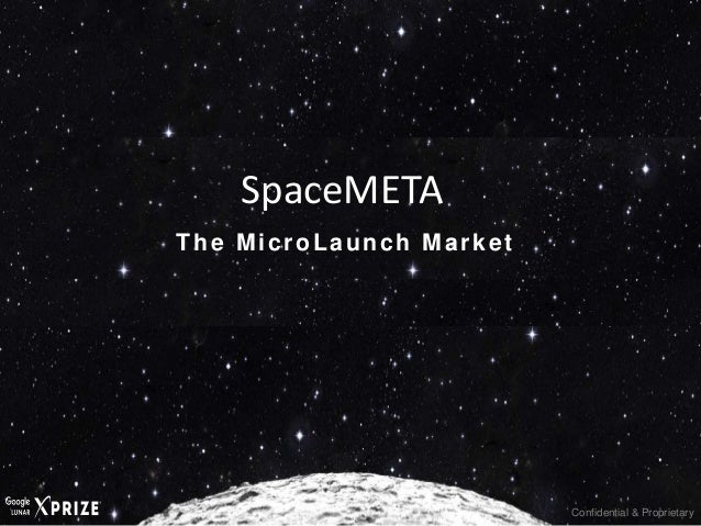 Confidential & Proprietary The MicroLaunch Market SpaceMETA