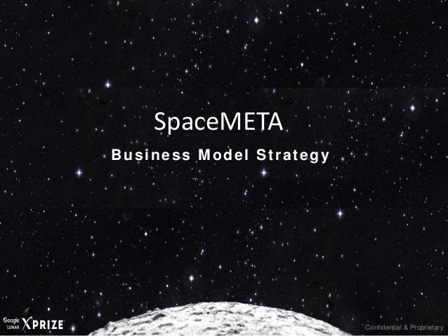 Confidential & Proprietary Business Model Strategy SpaceMETA