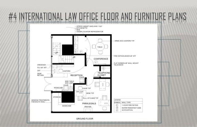 Law Office Floor Plan: Space Planning, Catherine Allen