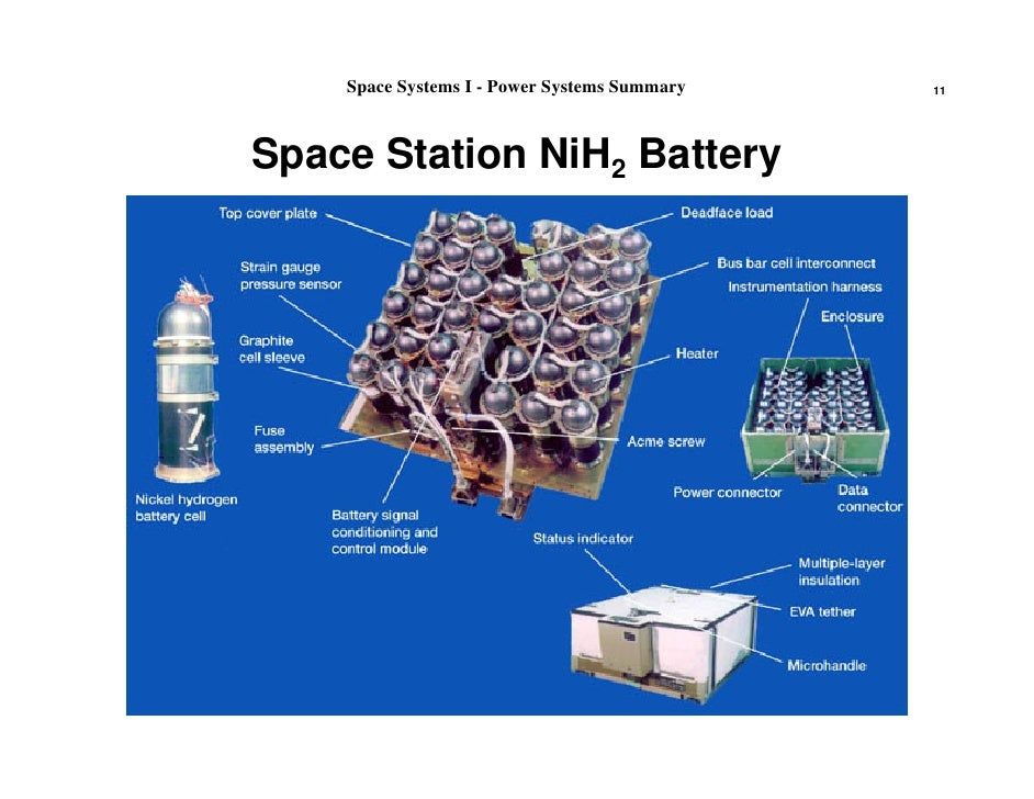 spacecraft power systems - photo #24