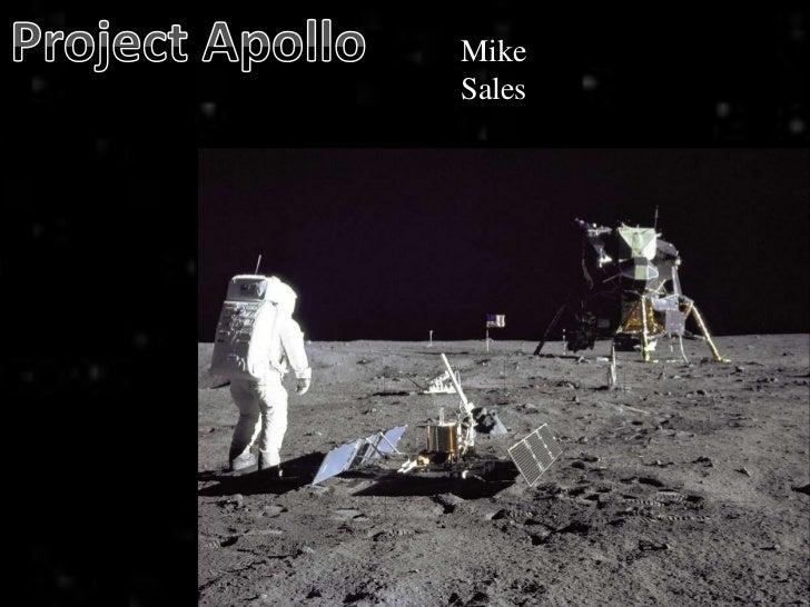 Project Apollo<br />Mike Sales<br />