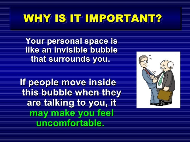 an introduction to the importance of personal space Guide to essay writing  examine the introduction to this booklet and this guide  admittedly the space available is limited at times but this.
