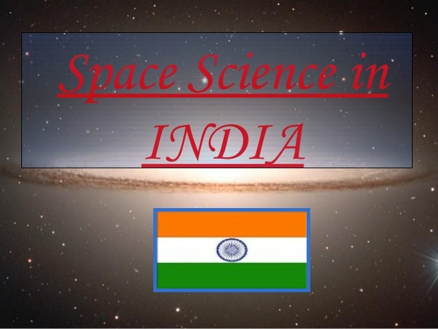 Space Science in INDIA