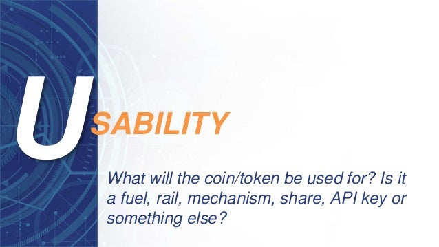 What will the coin/token be used for? Is it a fuel, rail, mechanism, share, API key or something else? SABILITY