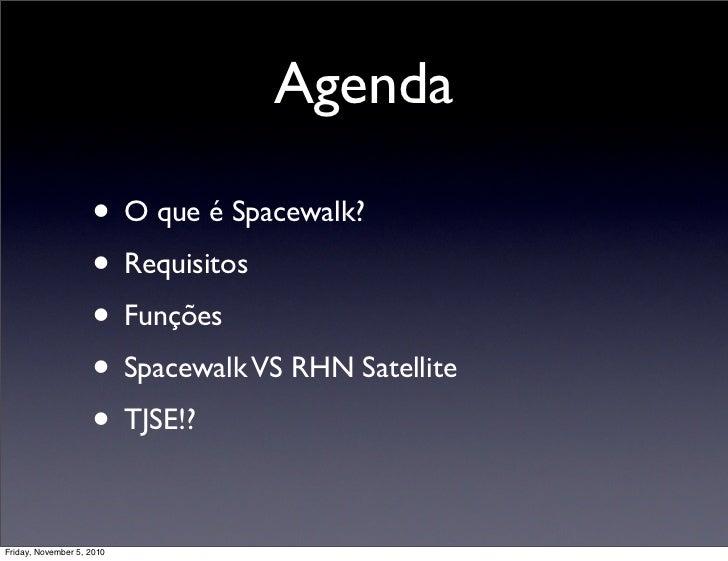 Gerenciamento Servidores com o Spacewalk Slide 2