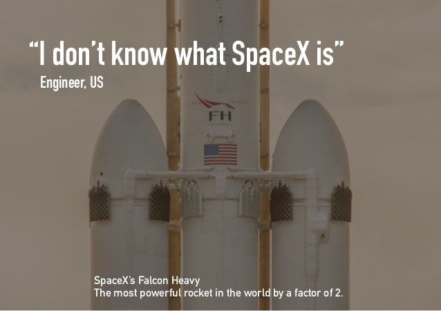 COMPETITOR ANALYSIS SUGGESTIONS SpaceX is fighting a two-front war. On one hand, there is the battle with low-key competit...