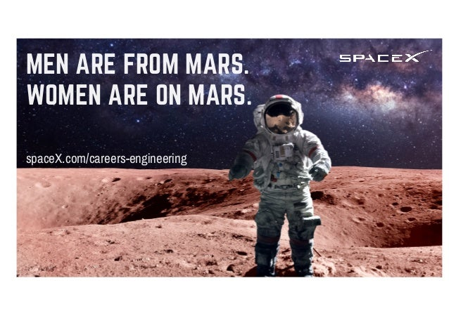 """THE ONLY WAY YOU SHOULD """"WORK IT"""", GIRL. spaceX.com/careers-engineering"""