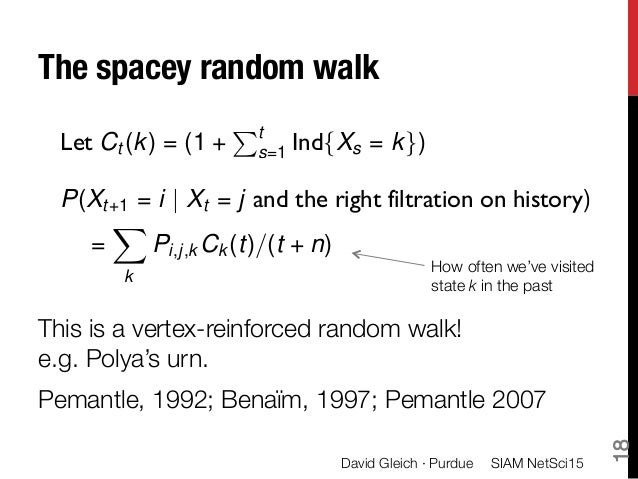 reinforced random walks Random walk - download as pdf file (pdf), text file (txt) or read online.