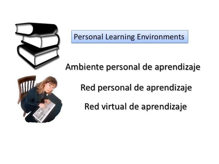 Sistema personal de aprendizaje Slide 3