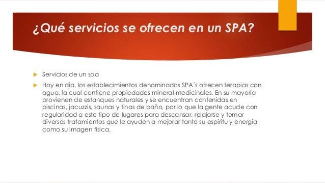 Spa datos - Que es un spa ...