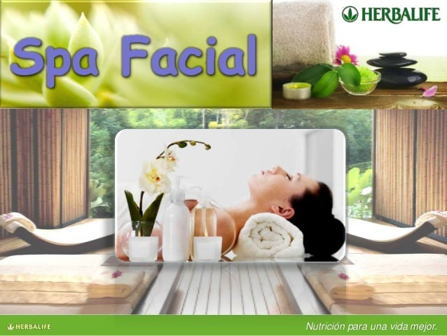 Herbalife spa facial for Buscador de spa