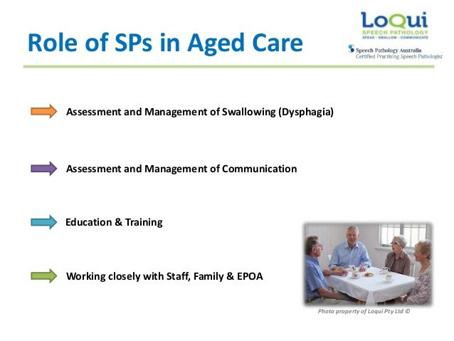 The importance of communication when working in the field of aged care