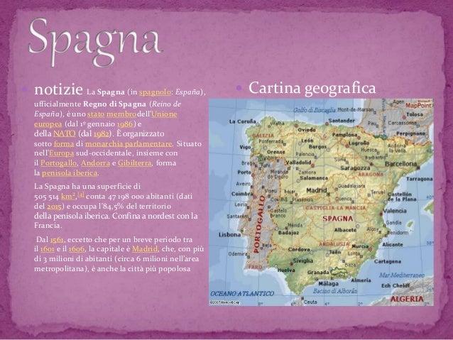 Cartina Amministrativa Spagna.Viva La Spagna Ole