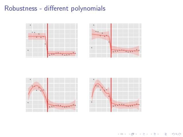 Robustness - different polynomials q q q q q q q q q q q q q q q q q q q q q q q q q q q q q q q q q q q q q q q q q q q q ...