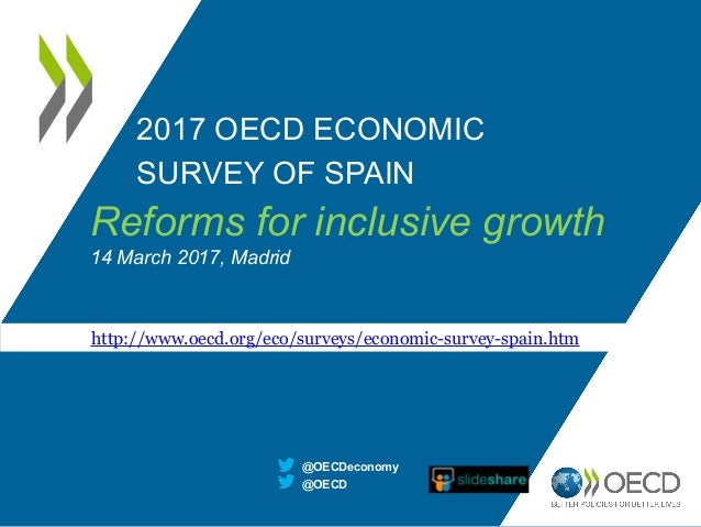 2017 OECD ECONOMIC SURVEY OF SPAIN @OECD @OECDeconomy http://www.oecd.org/eco/surveys/economic-survey-spain.htm Reforms fo...