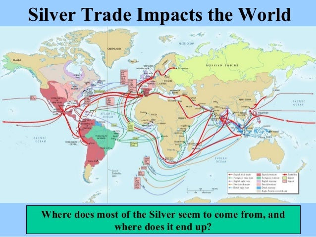 The silver trade trend lines in forex
