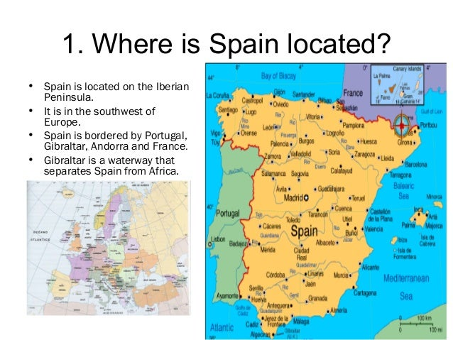 Spain Part - Where is spain located